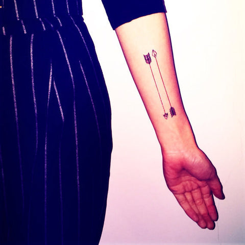 arrow-dart-temporary-tattoo