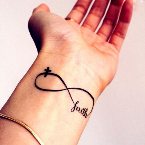 faith-infinity-loop-temporary-tattoo