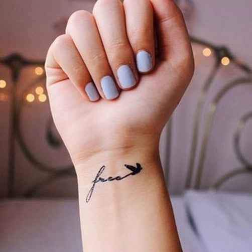 Free Like Bird – INKNARTSHOP - Designer Temporary Tattoo