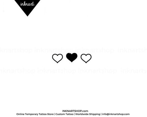 heart-outline-temporary-tattoo