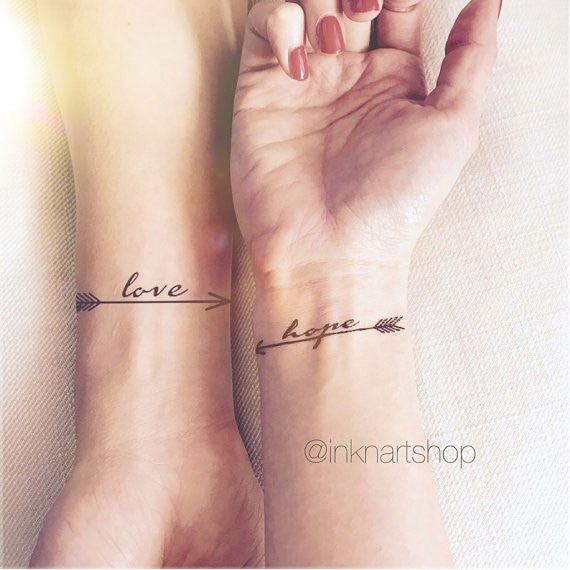 hope-arrow-love-temporary-tattoo