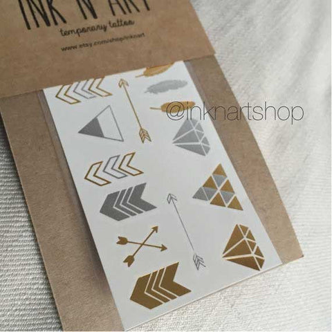 metallic-arrow-temporary-tattoo-1