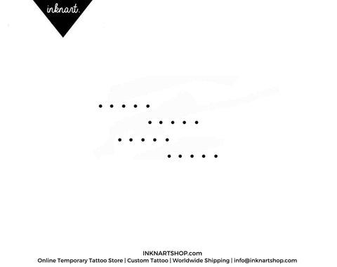 minimal-dot-temporary-tattoo