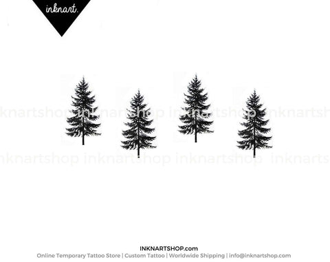 pine-tree-temporary-tattoo