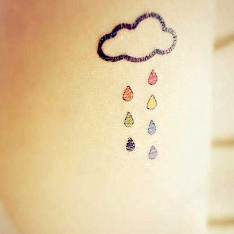 Colored Rain Cloud
