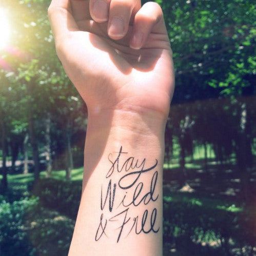 stay-wild-quote-temporary-tattoo