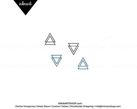 tiny-double-triangle-temporary-tattoo
