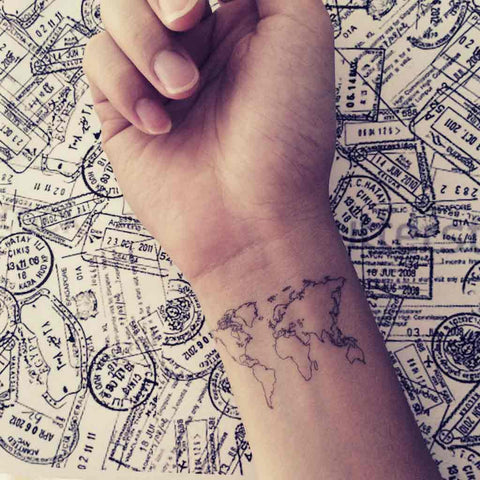 world-map-outline-temporary-tattoo