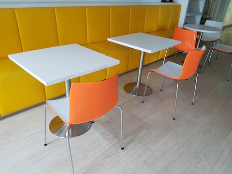 Pantry Chairs - Orange Color