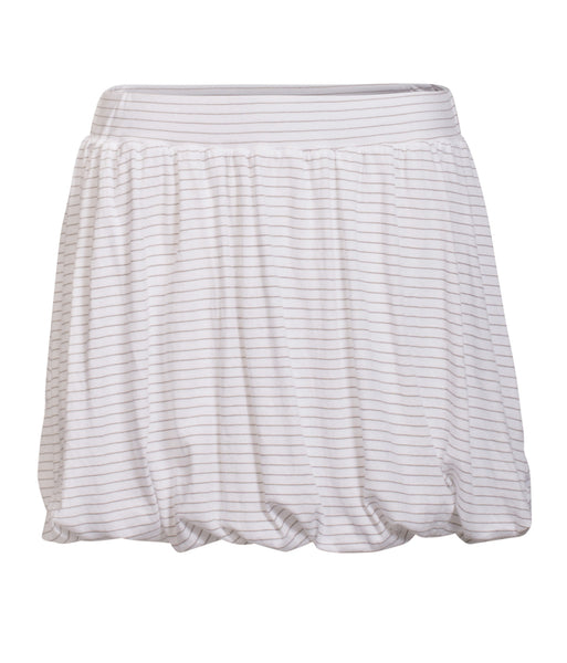 By Ti Mo S-Tees Cotton Skirt in Earth Stripe