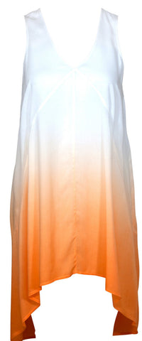 Watercult Summer Solids Ombre Dress in Apricot