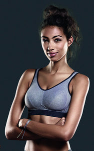 Anita Active Maximum Support Extreme Control Sports Bra in Heather Grey