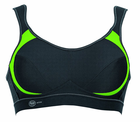 Anita Active Extreme Control Maximum Support Sports Bra in Green & Anthracite