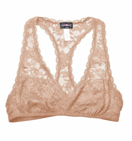 Cosabella Never Say Never Racie Racer Back Bra in Blush