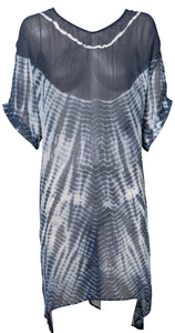 One Season Cloudy Dress in Tie Dye