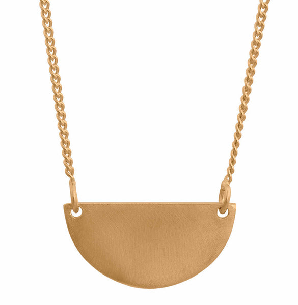 Nordahl Andersen Jewellery Half Gold Necklace