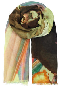 Becksondergaard Halawa Cotton Scarf in Lemonade