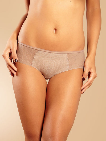 Chantelle Lingerie C-Ideal Shorty in Cappucino