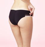 Chantal Thomass Delicatesse Brazilian Brief in Black