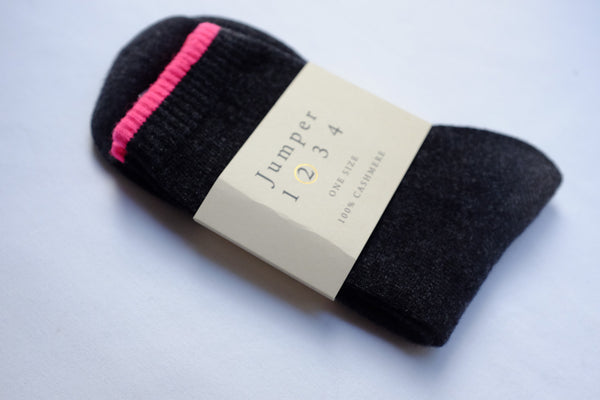 Jumper 1234 Tipped Cashmere Socks