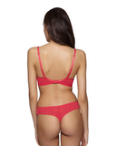 Gossard Gypsy Lace Thong in Rouge