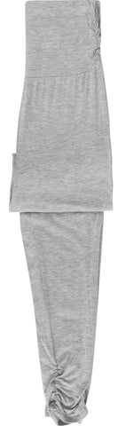 Heidi Klum Intimates Cozy Mornings Lounge Pant Leggings in Grey Marl & White