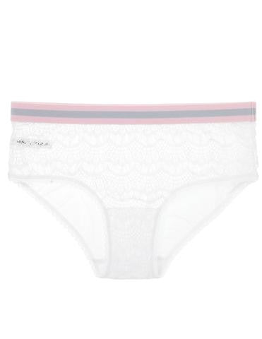 Mimi Holliday Bisou Bisou Rock Candy Comfort Knicker in White
