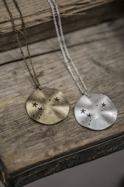 Tutti & Co Jewellery Short Star Disc Necklace