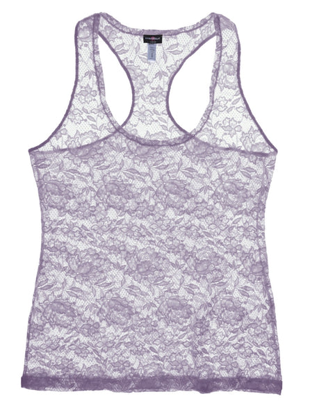 Cosabella Never Say Never Racer Back Camisole in Frosty Lilac