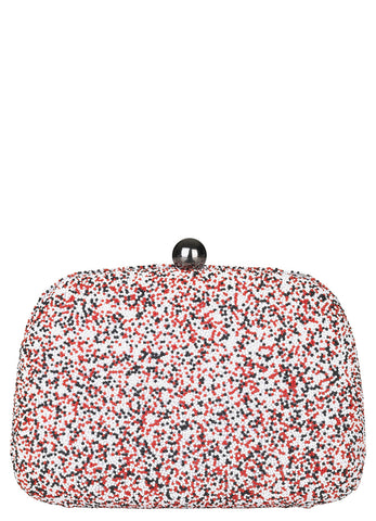 Becksondergaard Poppy Box Clutch Bag in Multi or Black