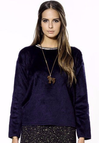 Bellerose Demmi Sweater in Indigo