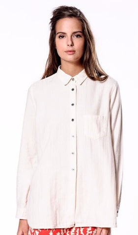 Bellerose Farm Shirt in Pannacotta