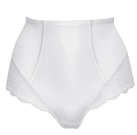 Maison Lejaby Gaby Deep Sculpting Culotte Brief in White