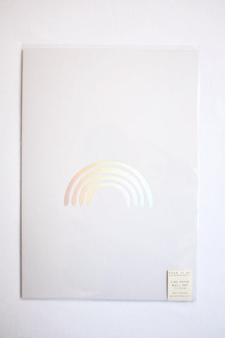 Dear To Me Rainbow Wall Art
