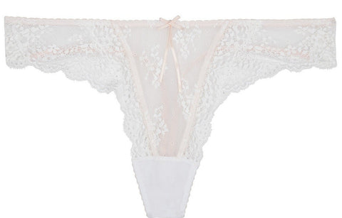 Heidi Klum Intimates Sofia Thong in Pink Dogwood