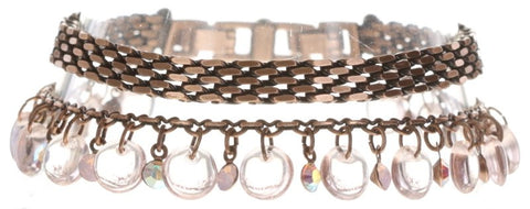 Konplott Aqaurell Bracelet in Pink Antique Copper