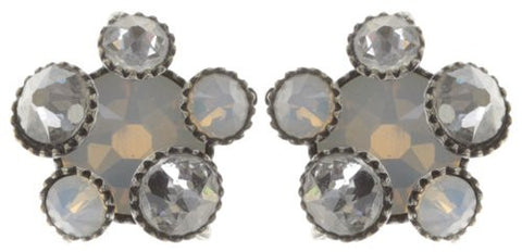 Konplott Caviar de Luxe Stud Earrings