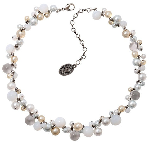 Konplott Caviar de Luxe Antique Silver Necklace