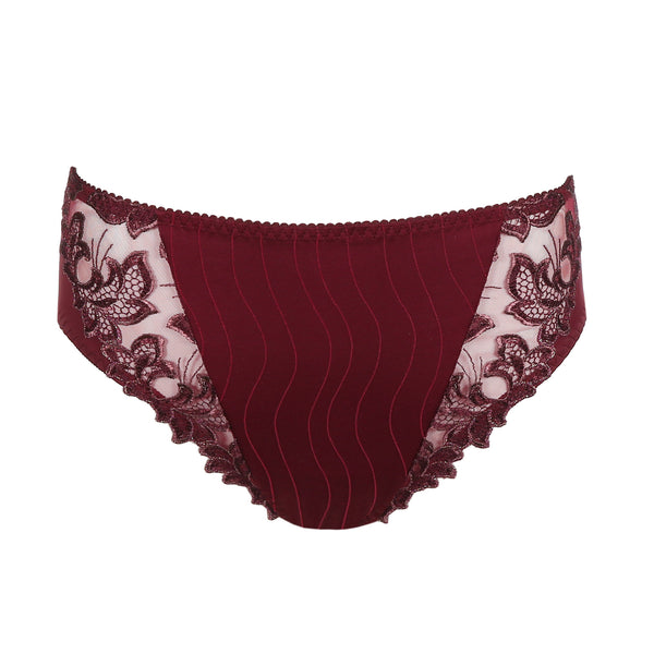 Prima Donna Deauville Full Briefs in Ruby Gold