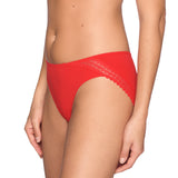 Prima Donna Twist I Want You Rio Briefs in Lipstick