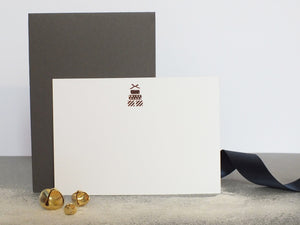Dear To Me Set of Six Rose Gold Gift Notecards