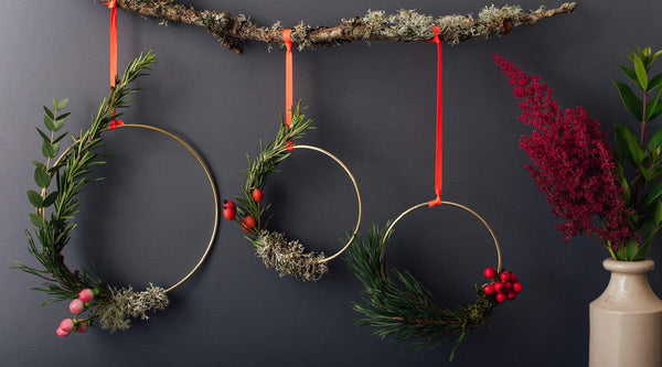 Mindful & magical Christmas Luna Wreaths