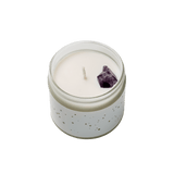 Wellbeing Crystal Candle