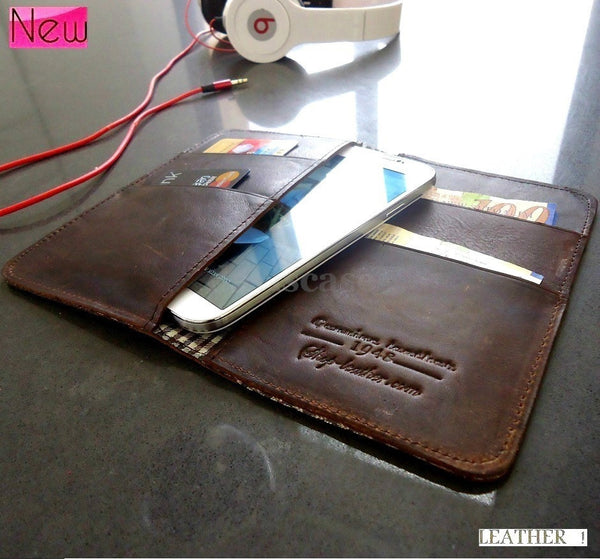 genuine natural leather case for sony xperia z1 z cover purse pouch 4s book wallet stand GAS4