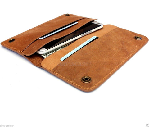 genuine natural leather case for samsung galaxy NOTE 3 cover purse book wallet stand slim luxury free shipping !