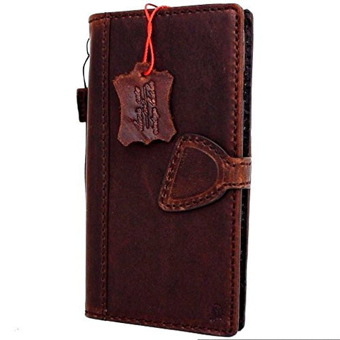 Genuine Full leather iPhone 7 Plus Magnetic case cover wallet credit holder book luxury Rfid Pay premuine