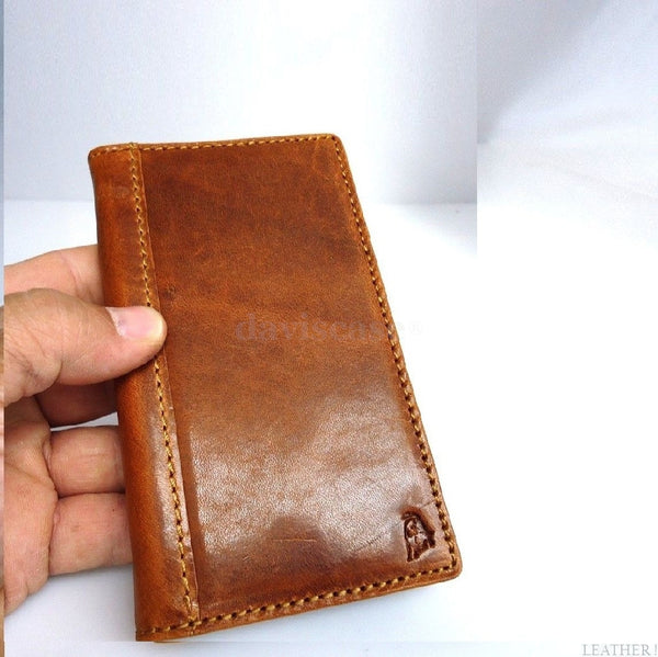 genuine vintage leather case for iphone 4s cover purse s 4 G book wallet stand uk au