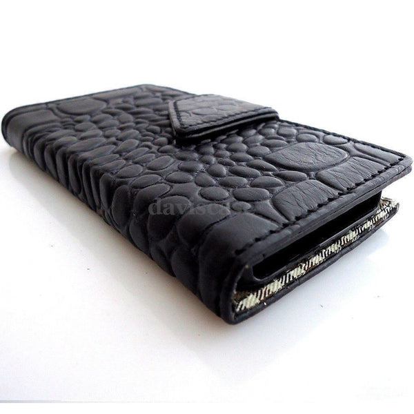 genuine leather Case for Samsung Galaxy Note 3 book wallet crocodile model new R