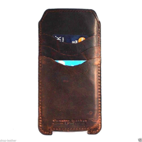 genuine vintage leather case for iphone 8 plus \ note 8 cover Bible book wallet credit card id business slim s 6 daviscase