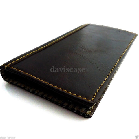 genuine full leather Case fit Samsung Galaxy Note 3 book wallet handmade retro B